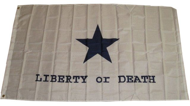 3x5 Super Polyester Goliad Battle Liberty or Death Flag - Sun-Blades
