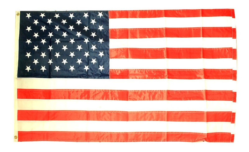 3X5 American Flag Nylon Embroided Stars - Sun-Blades