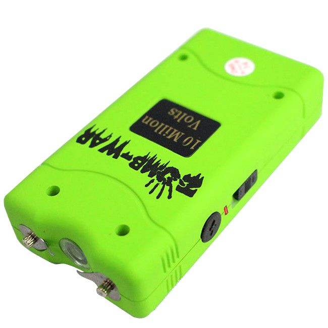 Zomb-War 10 Million Volt Green Stun Gun - Sun-Blades