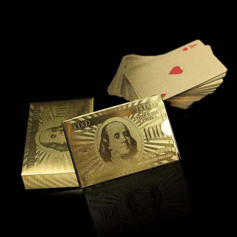 REAL 24K Gold Playing Cards