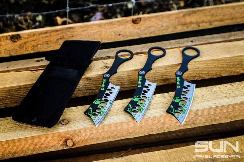 Zombie Throwing Cleavers - Sun-Blades