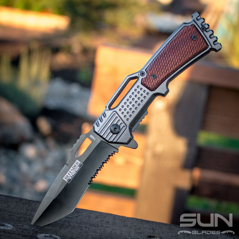 "8"" The Gun Knife - Sun-Blades"