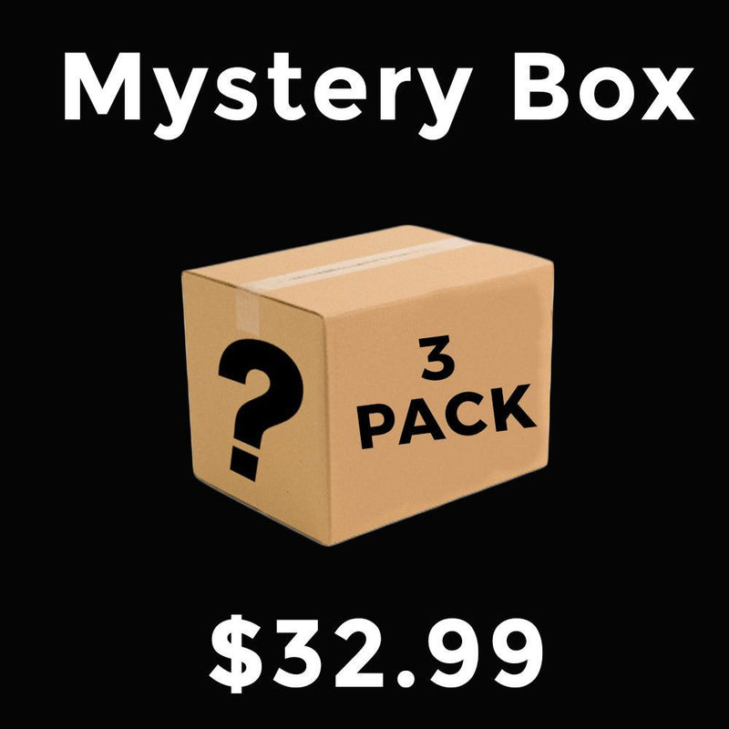 Closeout Mystery Box 3 Pack ($90 value)