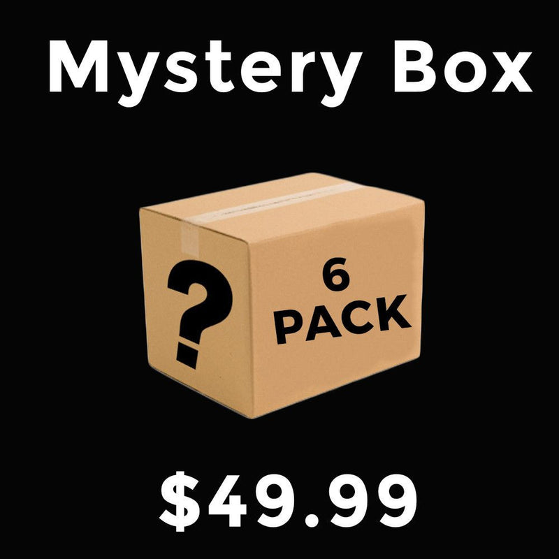 Closeout Mystery Box 6 Pack ($180 value)