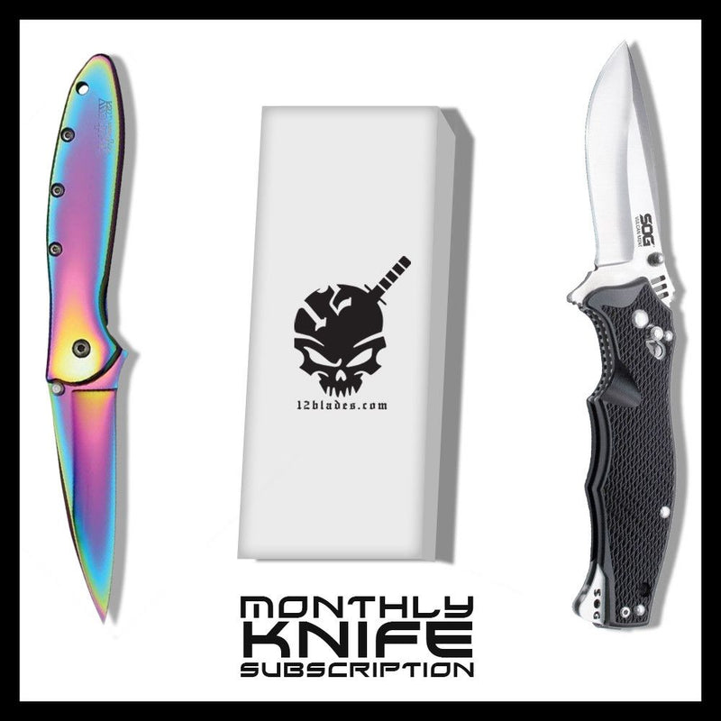 Monthly Knife Subscription (powered by 12blades) - Sun-Blades