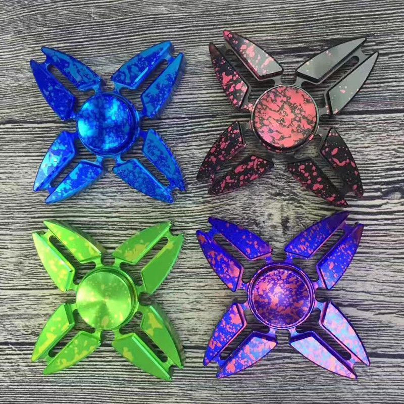 Quad Splatter Spinner