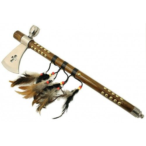 "19"" Cross Shape Indian Axe Feather - Sun-Blades"