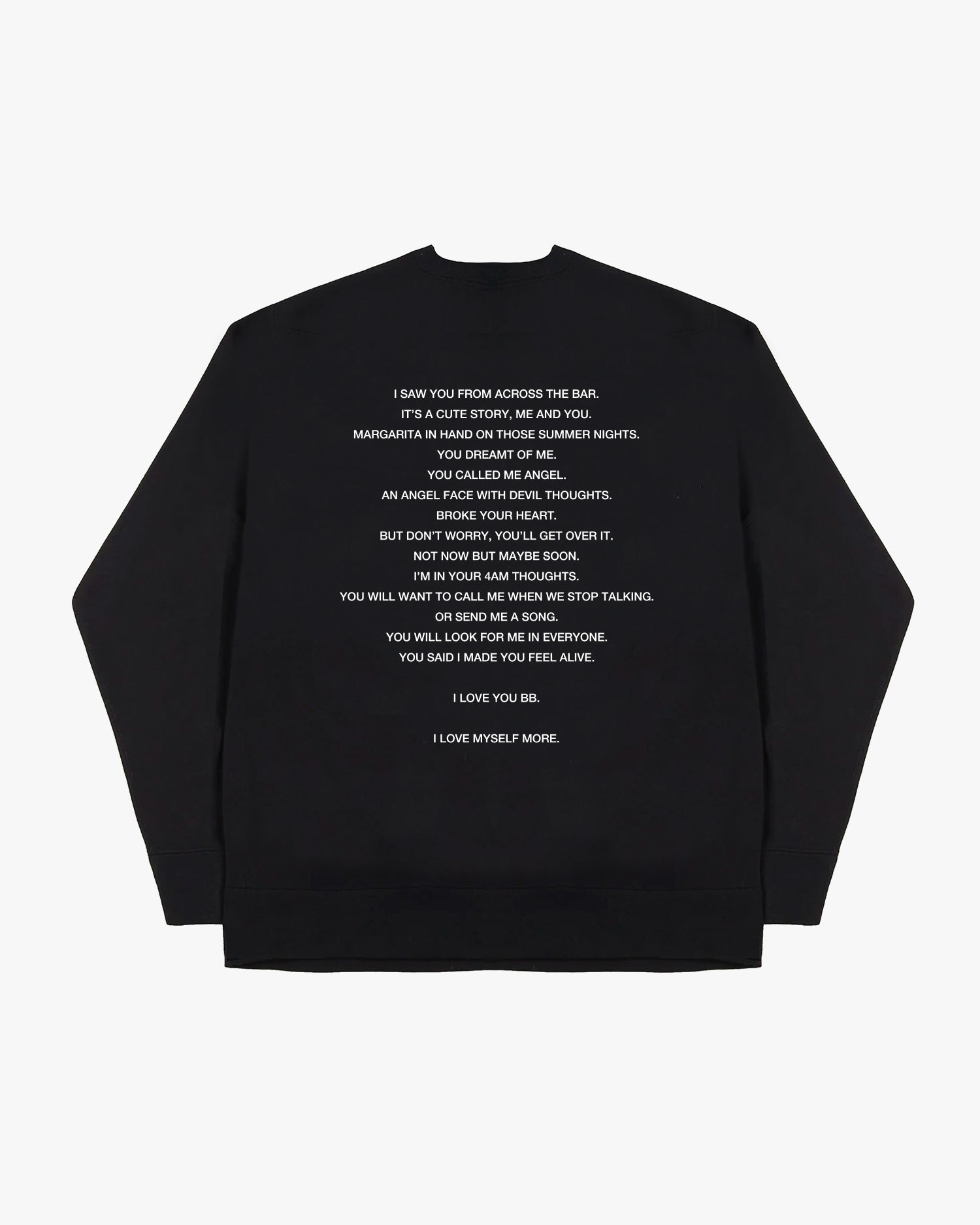 'I Love you BB' Sweatshirt