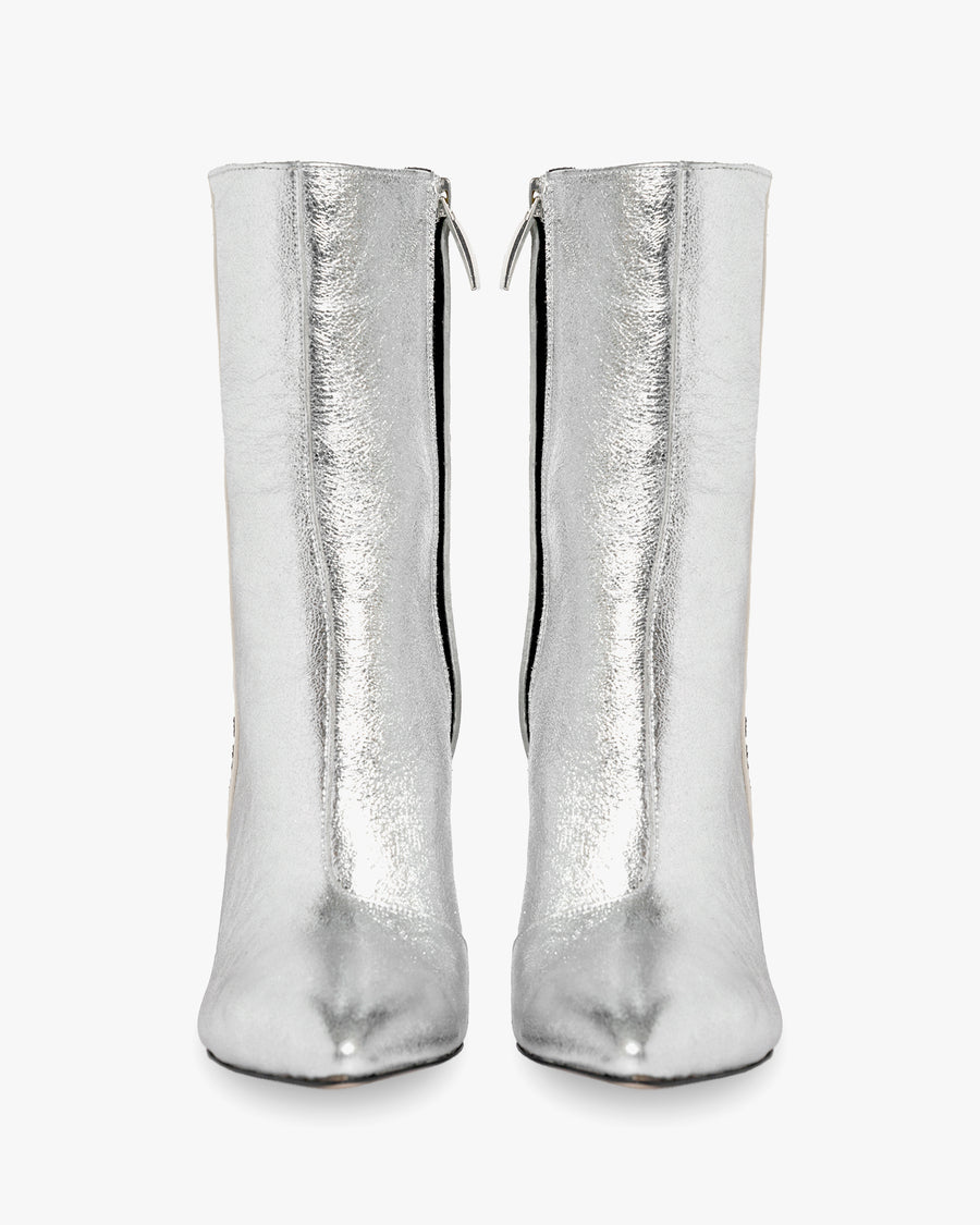 havva cool girls boot silver