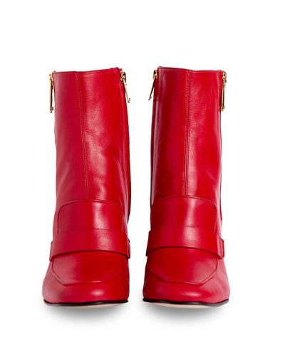 Havva Mustafa XO Boot Red