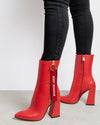 Havva 'WORST BEHAVIOUR' Boots Red