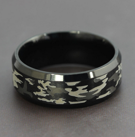 Camo Ring for Men