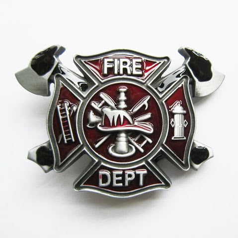 The Great Fire Fighter Belt Buckle