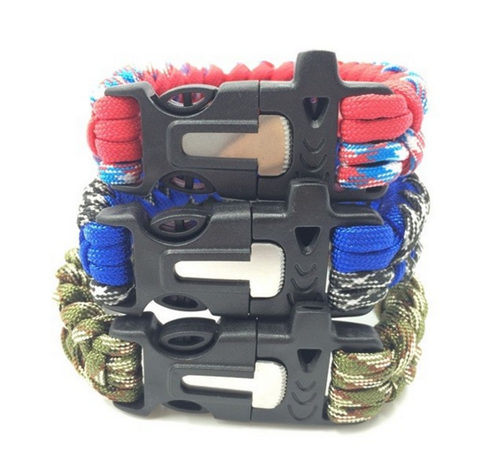 Red Blue & Green Outdoor Bracelet