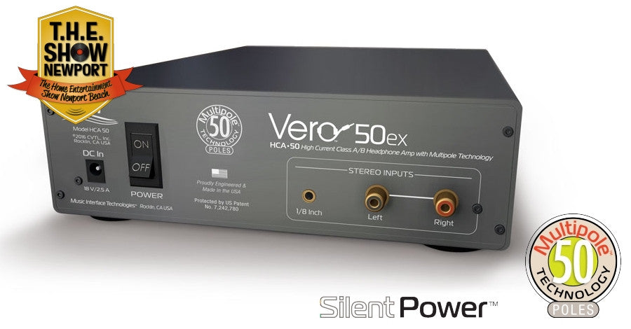 Amp - Vero HCA 50ex Headphone Amplifier