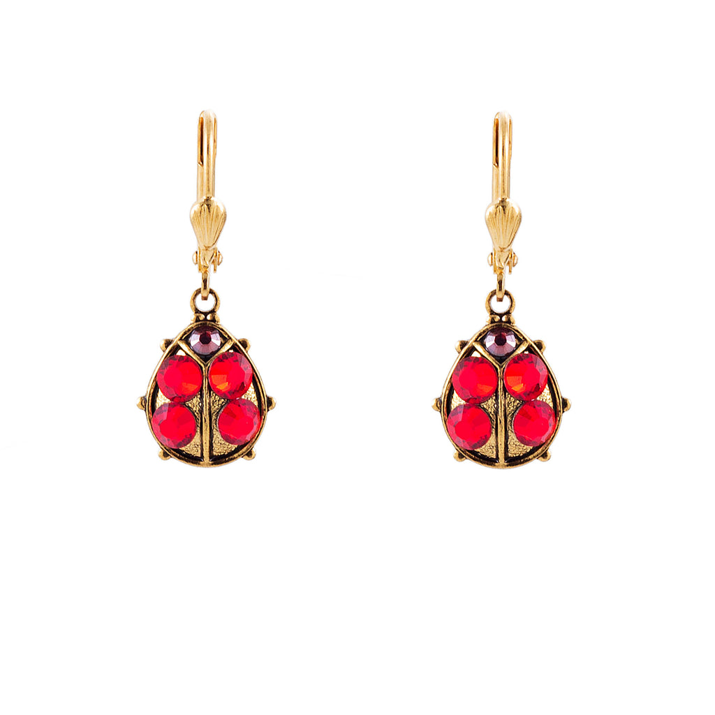 Clara Beau Ladybird earrings