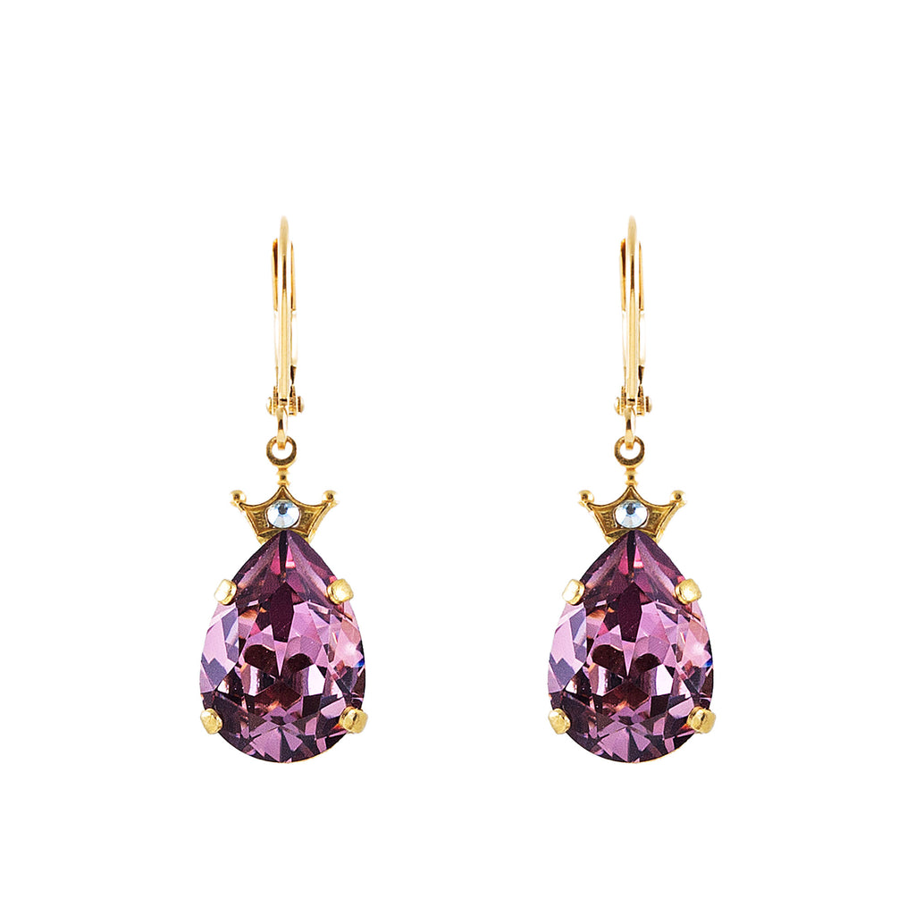Clara Beau Crown earrings