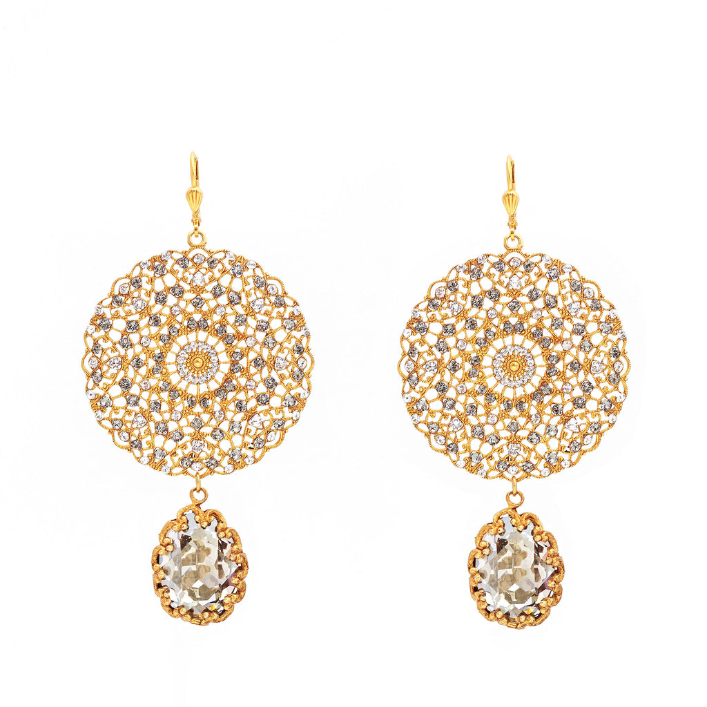 La Vie City of Light earrings