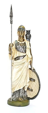 Athena Statue - Goddess of Wisdom, War, Arts - Greek Mythology - Magnificent !!