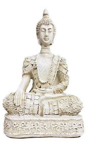 Thai Buddha Antiques Marble Finished
