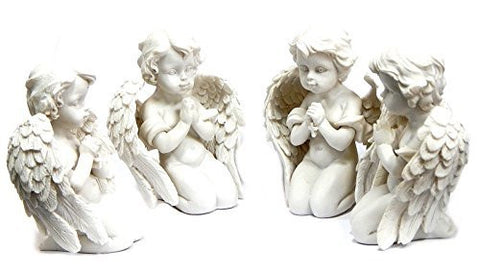 4 Loves Child Angel Cupid Home Decor Cherub Statue Baby Sculpture Figurine