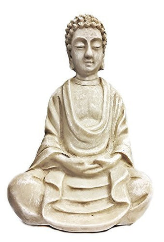 Beautiful Blessing Buddha Antiques Marble Finished