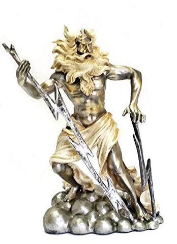 Zeus Statue - King of the Gods - Greek Mythology - Introduction Price LTD