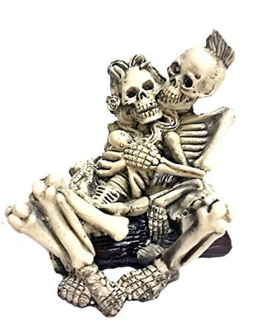 Beach Lovers - Collectible Figurine Statue Sculpture Figure Punk Skull Skeleton Adult
