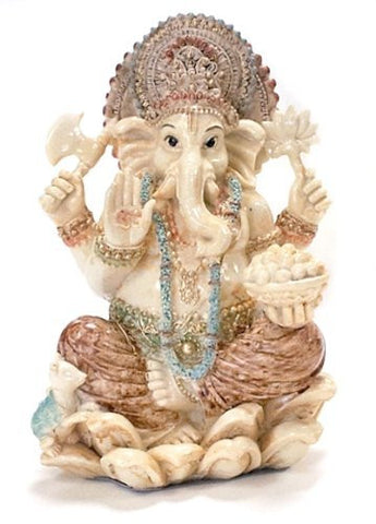 Rare Lord Ganesh Ganesha Beautiful Statues Hindu Good Luck God - Collectors Choice