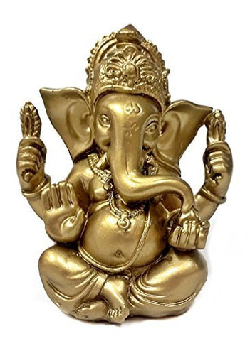 The Blessing Statue of Lord Ganesh Ganpati Elephant Hindu God Ganesha 5""