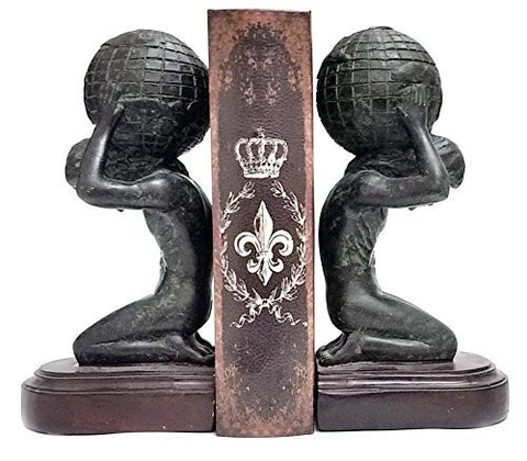 Atlas Bookends Beautifully Crafted   Office Bookends   Suite Your Esteems