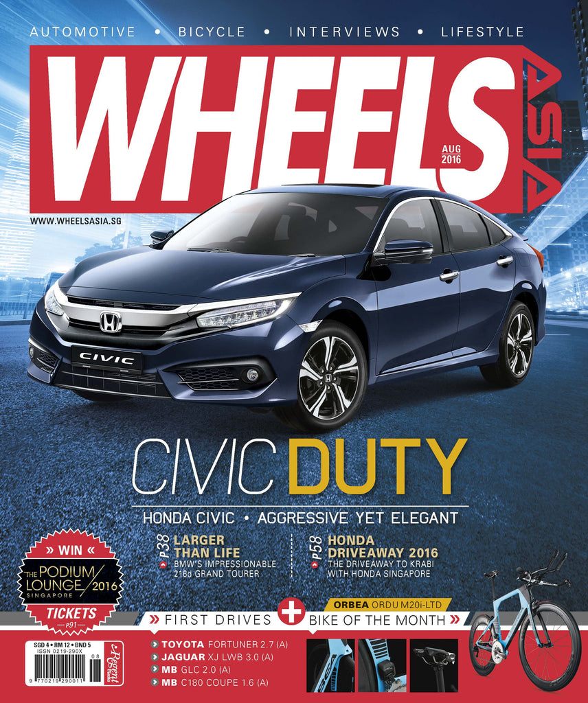 Wheels Asia August 2016