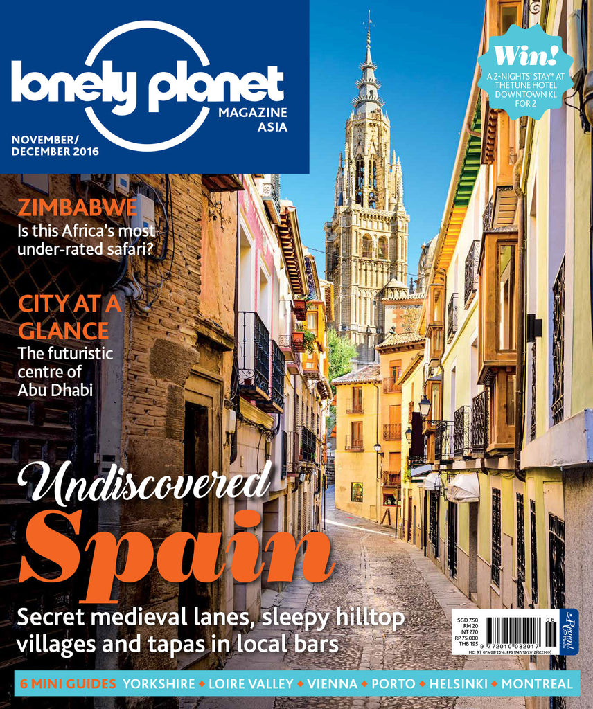 Lonely Planet Nov/Dec 2016