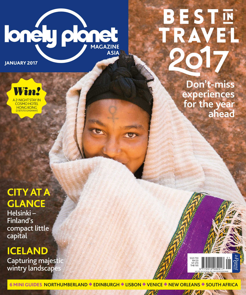 Lonely Planet January 2017