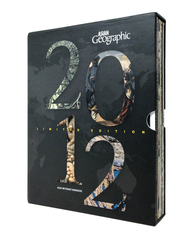 Asian Geographic Magazine Box Set Collection 2012