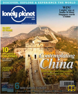 Lonely Planet Jan/Feb 2014