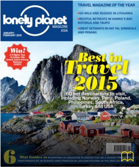 Lonely Planet Jan/Feb 2015