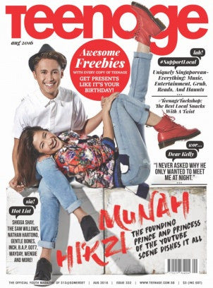 Teenage Magazine - August 2016