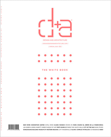 "d+a - Annual 2018 ""The White Book"""