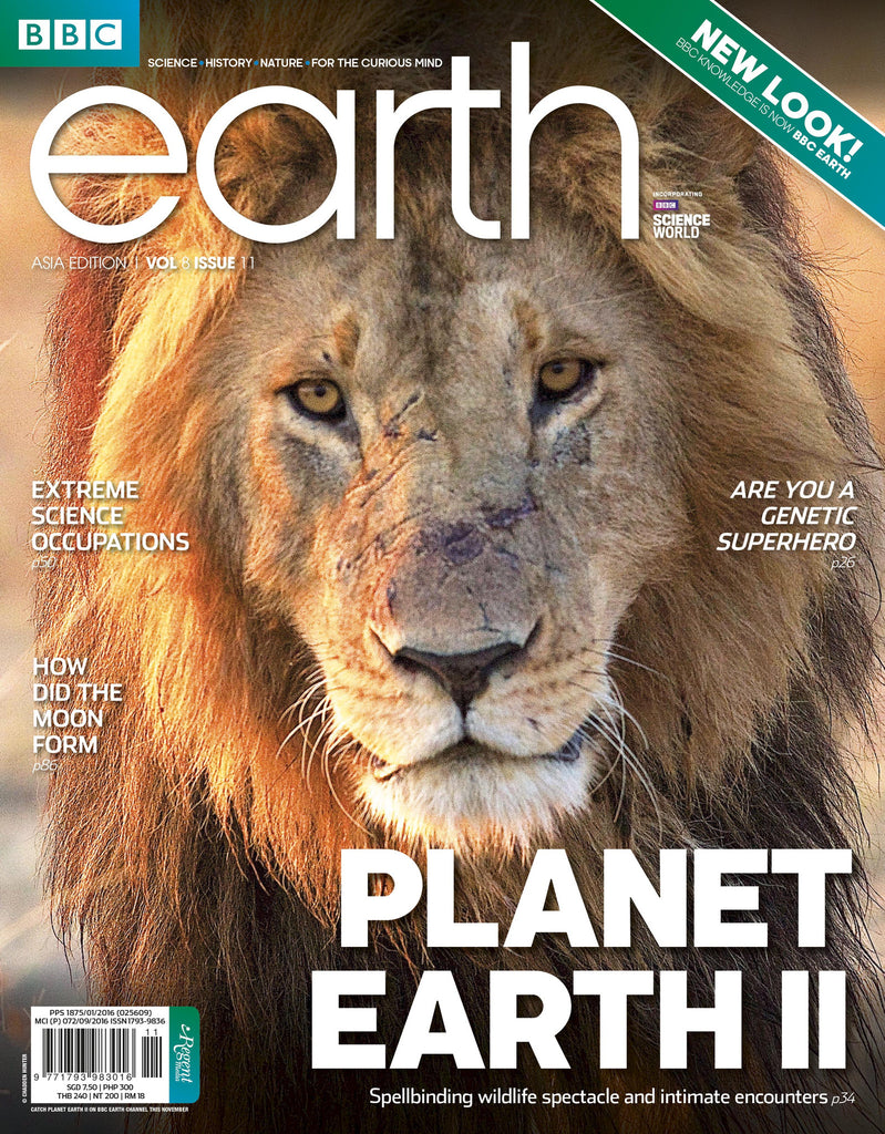 BBC Earth November 2016