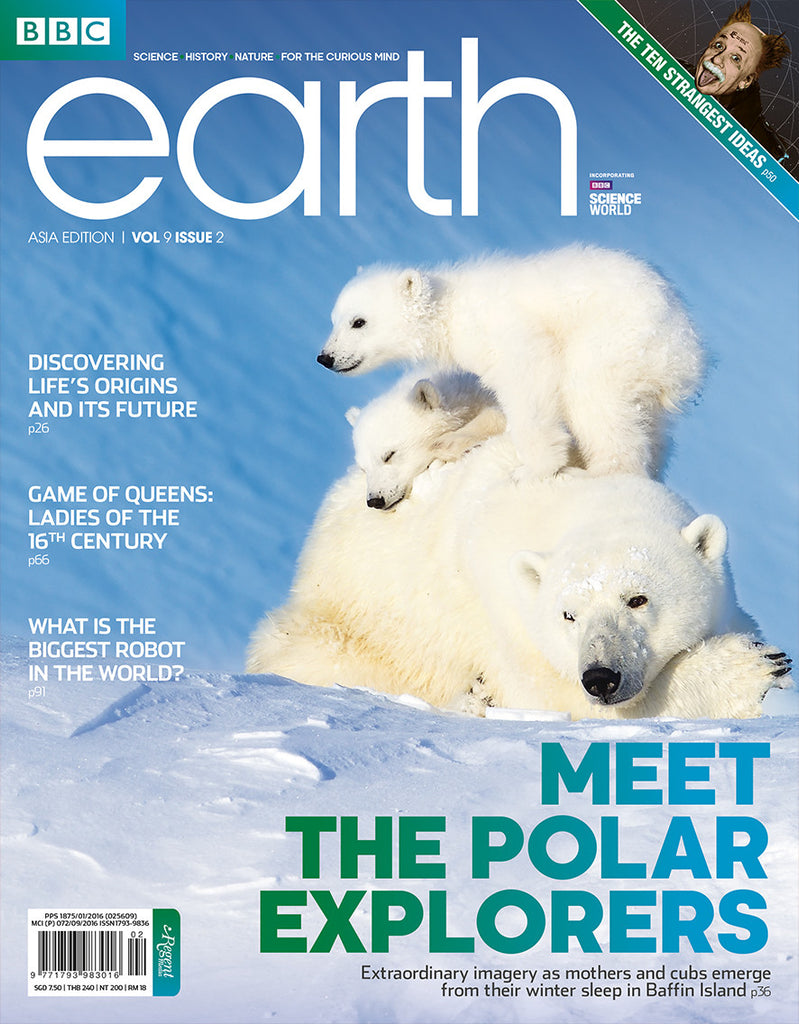BBC Earth February 2017