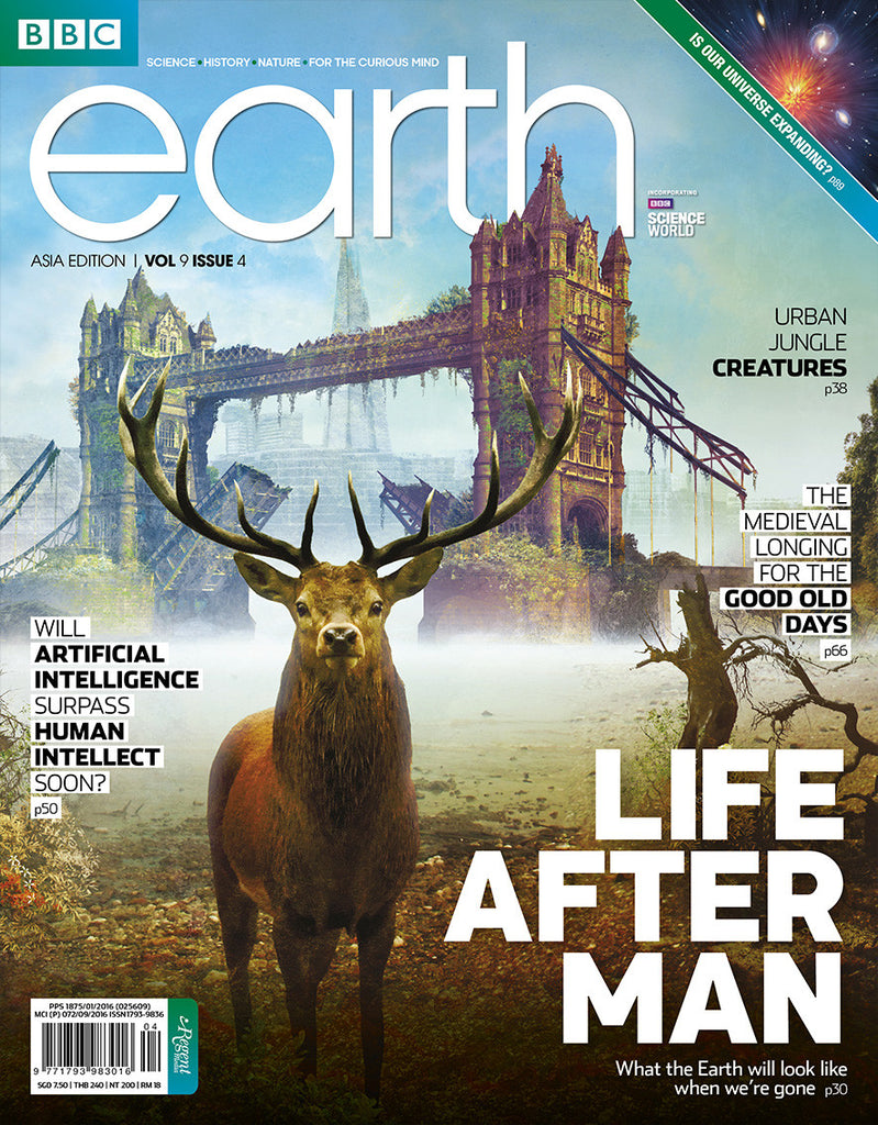 BBC Earth April 2017