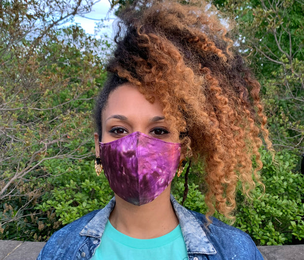 Nairobi Face Mask (Purple)