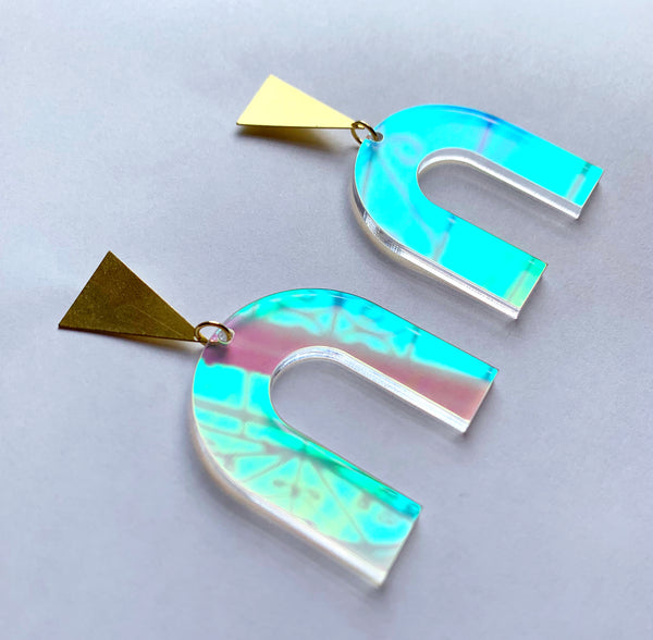 Dreamscape Earrings-Iridescent