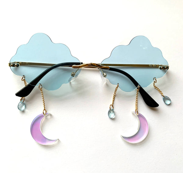 Ether Sunglasses Baby Blue