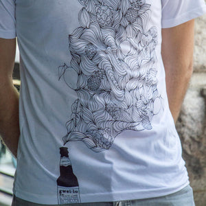 Gweilo tropical T-shirt white