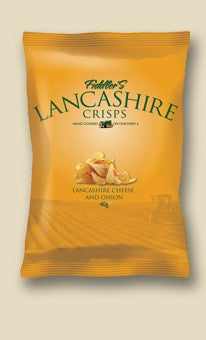 Fiddlers Lancashire Cheese & Onion Crisps