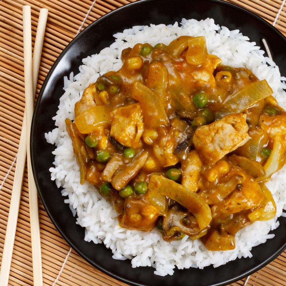 Classic Chinese Chicken Curry