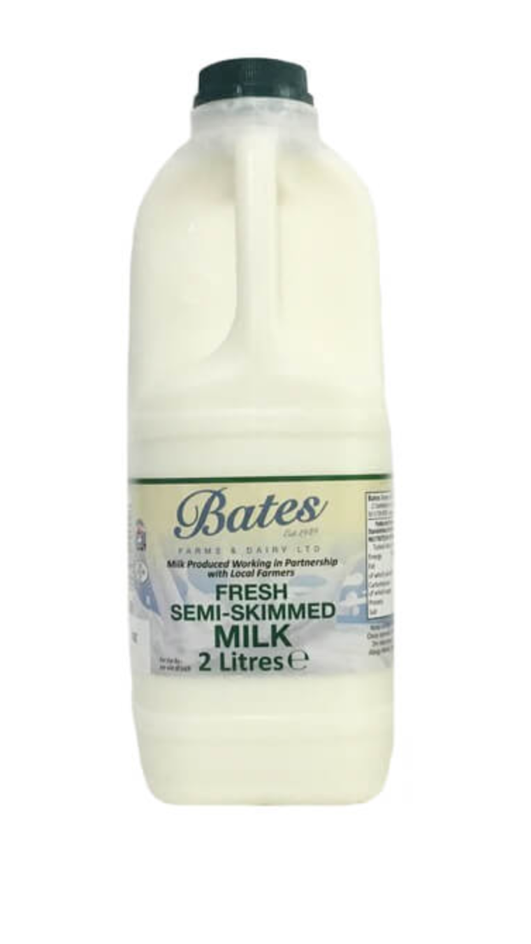 Milk produced in southport, merseyside