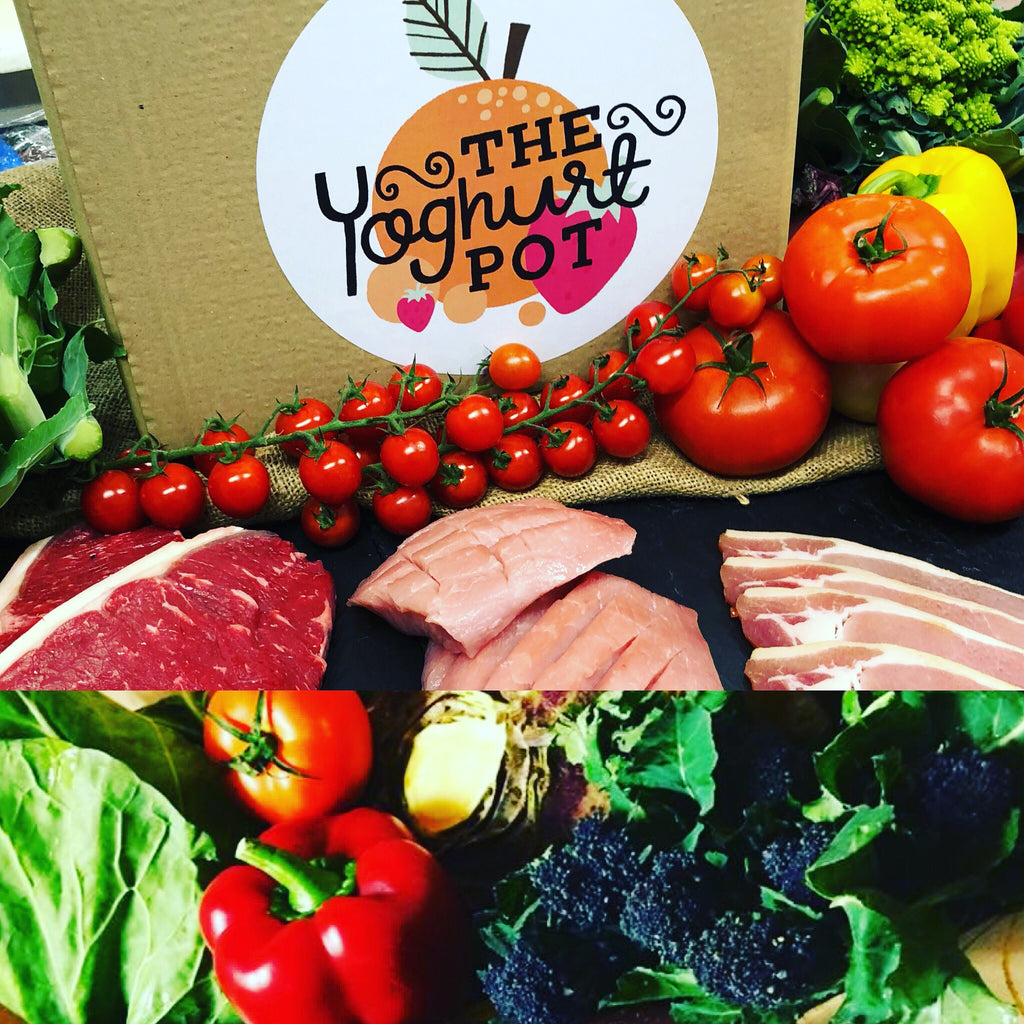 winter value meat & veg box